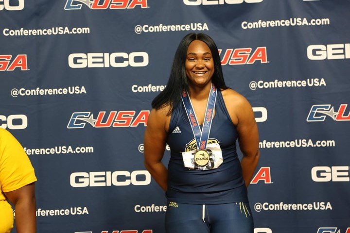 Russell Earns C-USA Field Athlete of the Week